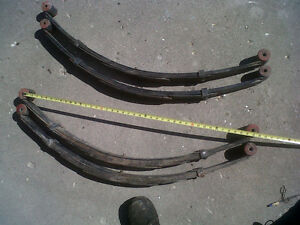 4 inch lift springs Jeep Wrangler