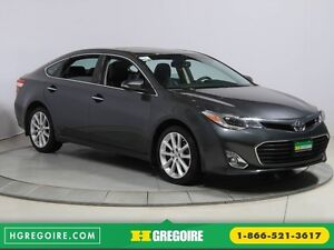 2013 Toyota Avalon XLE LIMITED AUTO CUIR NAVIGATION TOIT MAGS BL