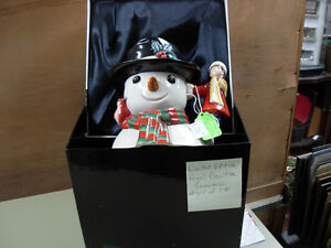Limited Edition Royal Doulton Snowman Cambridge Kitchener Area image 2