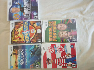 Lot of Wii games. Some brand new