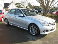 2011/11 Mercedes-Benz C180 Kompressor Sport Saloon, Only 56,000 miles with FDSH