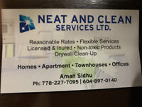Neat and Clean Services LTD.