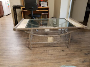 Quality Coffee Table and End Tables