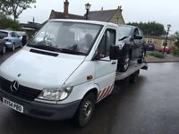 Recovery truck Mercedes sprinter LWB