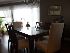 Glass Dining Room Table And Chairs Dining Tables Sets Winnipeg