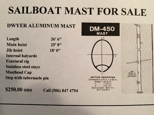 Sailboat Mast for Sale