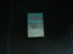 cassette vintage 4 track/christmas and the chipmunks