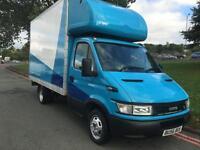 Iveco Daily 2.3 14ft Luton Box Van Transit/Sprinter LWB Size, New Mot