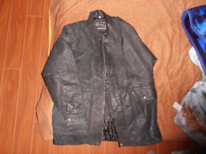 Large Mens Leather Jacket OBO