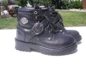 LIKE NEW WOMAN'S HARLEY BOOTS