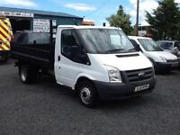 Ford Transit 2.4TDCi ( 100PS )6 speed tipper T350M 1-Way MWB 2012 12 reg