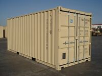 Container hire and caravan storage in Leven