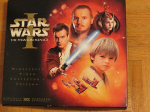 coffret collcetioneur de star wars(VHS)