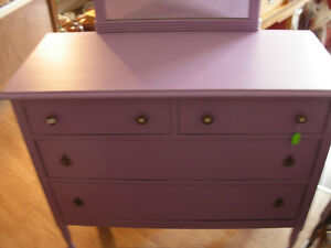 Antique Painted 4 Drawer Dresser Cambridge Kitchener Area image 2