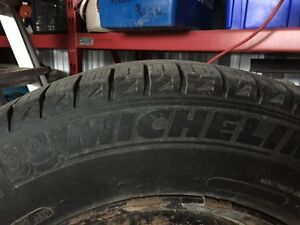 Michelin X-Ice Winter Tires & Rims 215 65 15