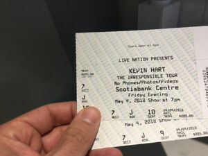 2 Kevin Hart Gold Circle tickets. Close to the stage!