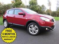 2011 NISSAN QASHQAI 1.5 DCI DIESEL ** ACENTA EDITION ** LOW MILES ** 55MPG