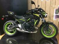 2021 Kawasaki Z650 ER650KMFAN 21MY Petrol Manual