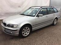 2004 BMW 318i SE TOURING (TRADE PX CLEARANCE) SALE TO MECHANIC/TRADER ..LONG MOT