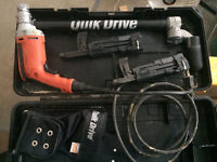 Quik Drive system with Milwaukee drive