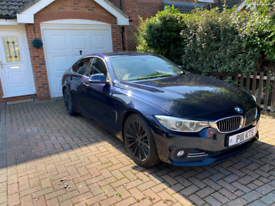 BMW 4 SERIES GRAN COUPE 2015 3.0 430d Luxury Gran Coupe Auto 5dr