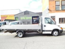 Iveco Daily 14ft alloy dropside lwb with only 77,708 miles from new and full service history (53)