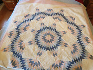 Hand Made Embroidered Quilt