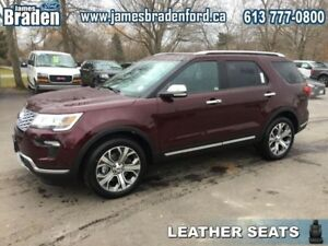2018 Ford Explorer Platinum 4WD  - Leather Seats