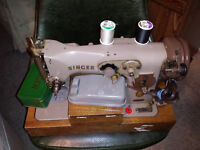 Antique Singer sewing machine - working!