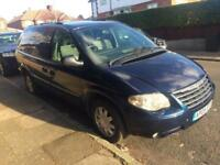 2005 CHRYSLER GRAND VOYAGER 2.8 CRD LIMITED 5 DOORS 7 SEATER AUTO BLUE