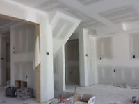 Drywall installation and Taping