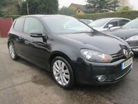 2010 10 VW Golf 2.0 GT TDi 140 3Dr Black