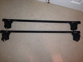 Roof rack bars for VW Polo 02-09