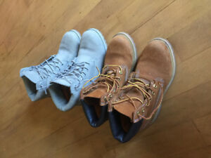 Authentic Timberland boots size 7 excellent condition