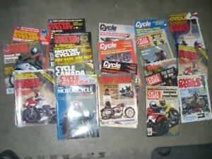 FREE  motorcycle magazines  from 80s
