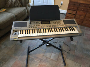 Electronic Keyboard w/stand