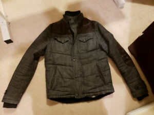 Great quality Cuffed Cotton Jacket with Elbow Pad