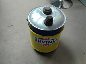 Irving oil 5 gallon can