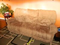 Sold pending pickup Couch with reclining ends