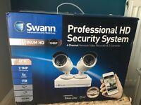 Swann NVR 1080p Security Camera CCTV
