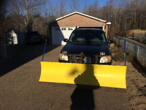 Sport trac plow trade for boat