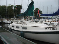 tanzer 22 (slip at BYC:Beaconsfield)  option to buy 1of2 engines