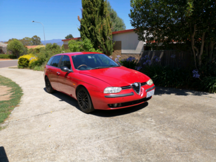 Alfa Romeo 156 sportswagon manual Macarthur Tuggeranong Preview