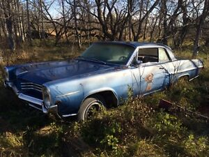 1964 Pontiac parisenne 2dr project