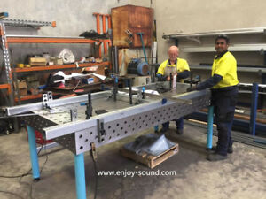 3D clamping systems and 3D welding tables