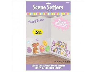 Happy Easter Scene Setter Room Decoration for your walls - Easter Scene Setters