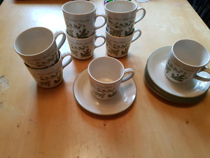 Corelle cups and saucers
