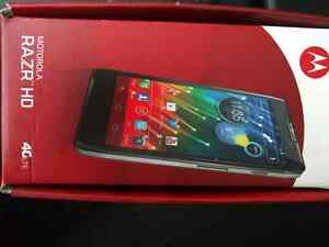 Motorolla HD Razr (Not bootable)