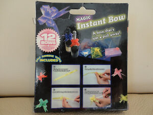 Instant Bows - Box of 12 -Brand new. Just Pull and a Bow Appears Kitchener / Waterloo Kitchener Area image 2