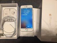 Apple iPhone 6 64gb gold white UNLOCKED warranty